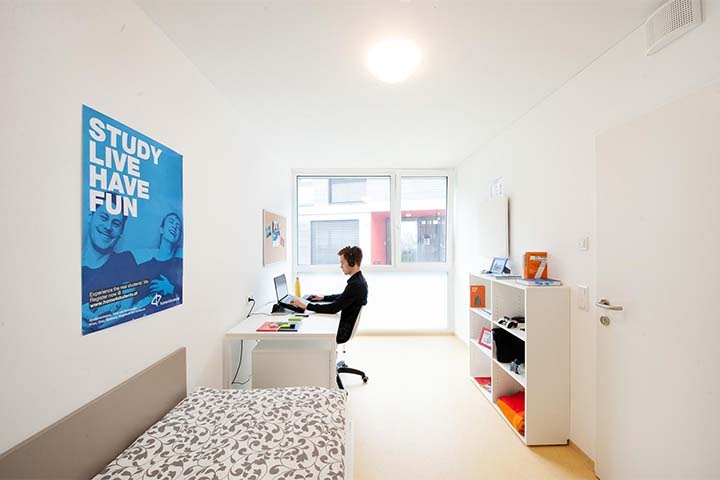 PopUp dorms Studentenzimmer; Credits: home4students