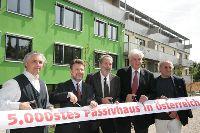 14 - 5.000ste Passivhaus in Österreich