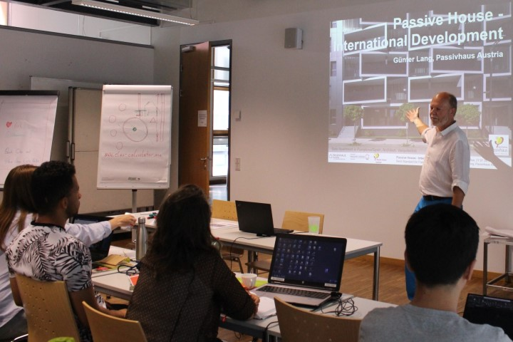 Green Building Solutions Summer School 2018; Fotocredits: LANG consulting